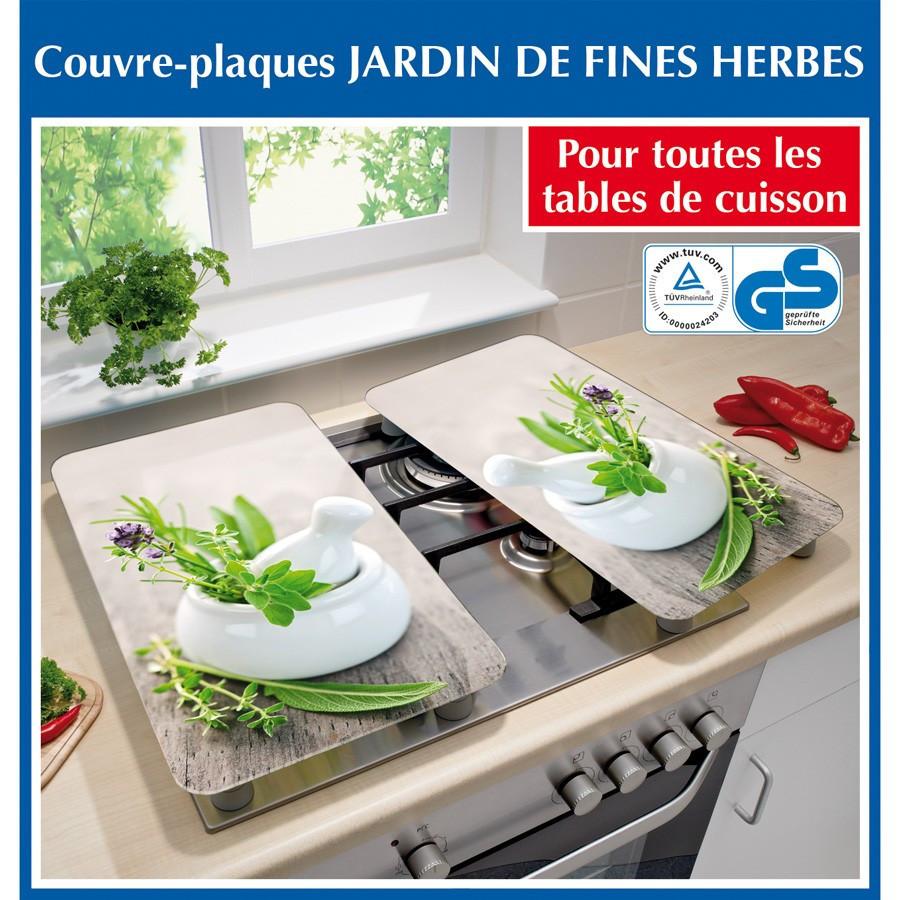2 couvre plaques de cuisson universels fines herbes wenko. Black Bedroom Furniture Sets. Home Design Ideas