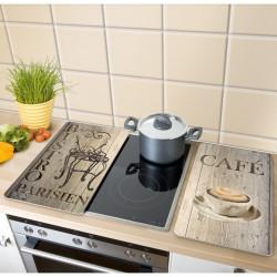 2 couvre plaques de cuisson universels piment wenko. Black Bedroom Furniture Sets. Home Design Ideas