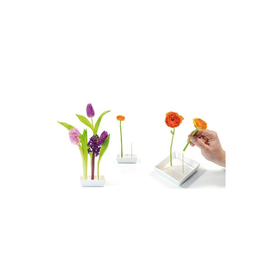 vase pour fleurs planter sur tige. Black Bedroom Furniture Sets. Home Design Ideas