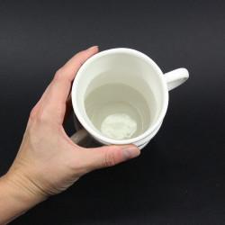 Pot à ustensiles original tasses empiléesMaison Ludique
