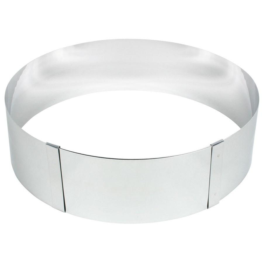 Cercle pâtissier réglable