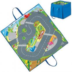 tapis de jeu pour petites voitures jouet repliable. Black Bedroom Furniture Sets. Home Design Ideas