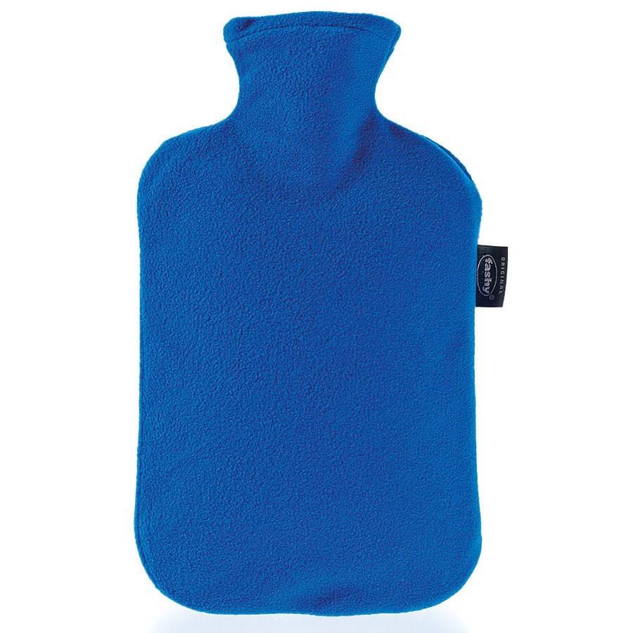bouillotte eau avec housse polaire fashy bleu. Black Bedroom Furniture Sets. Home Design Ideas