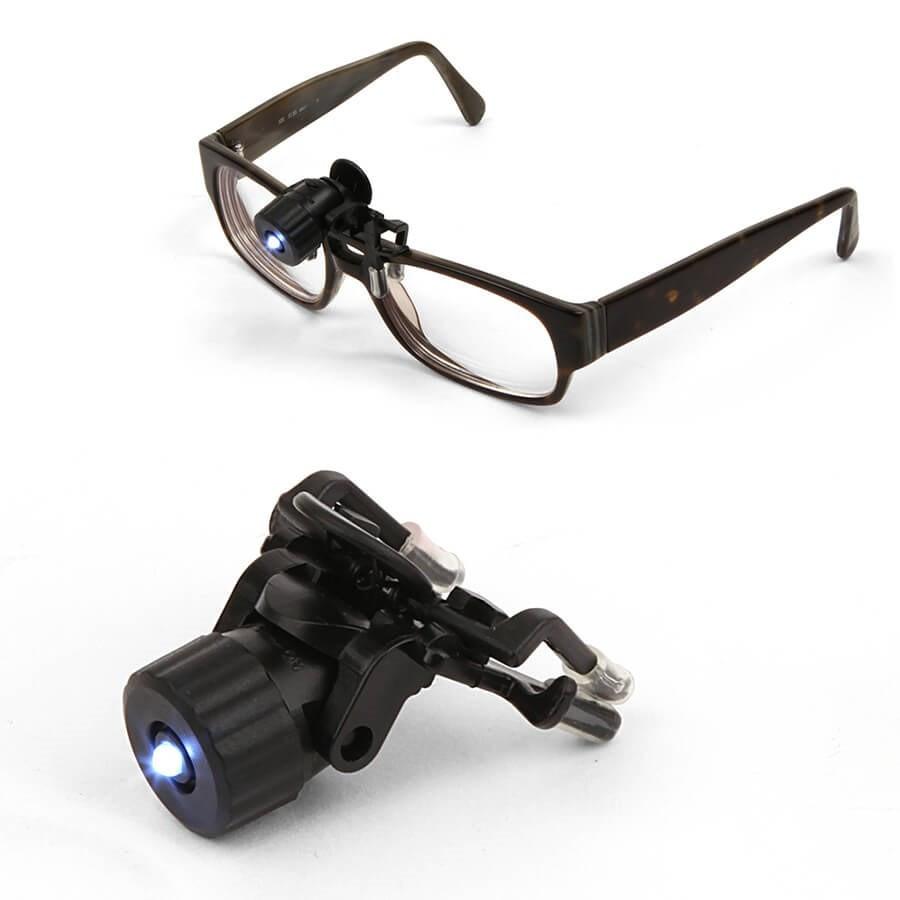 Lumière led à clipser pour lunettes Kikkerland cd47c00c0333