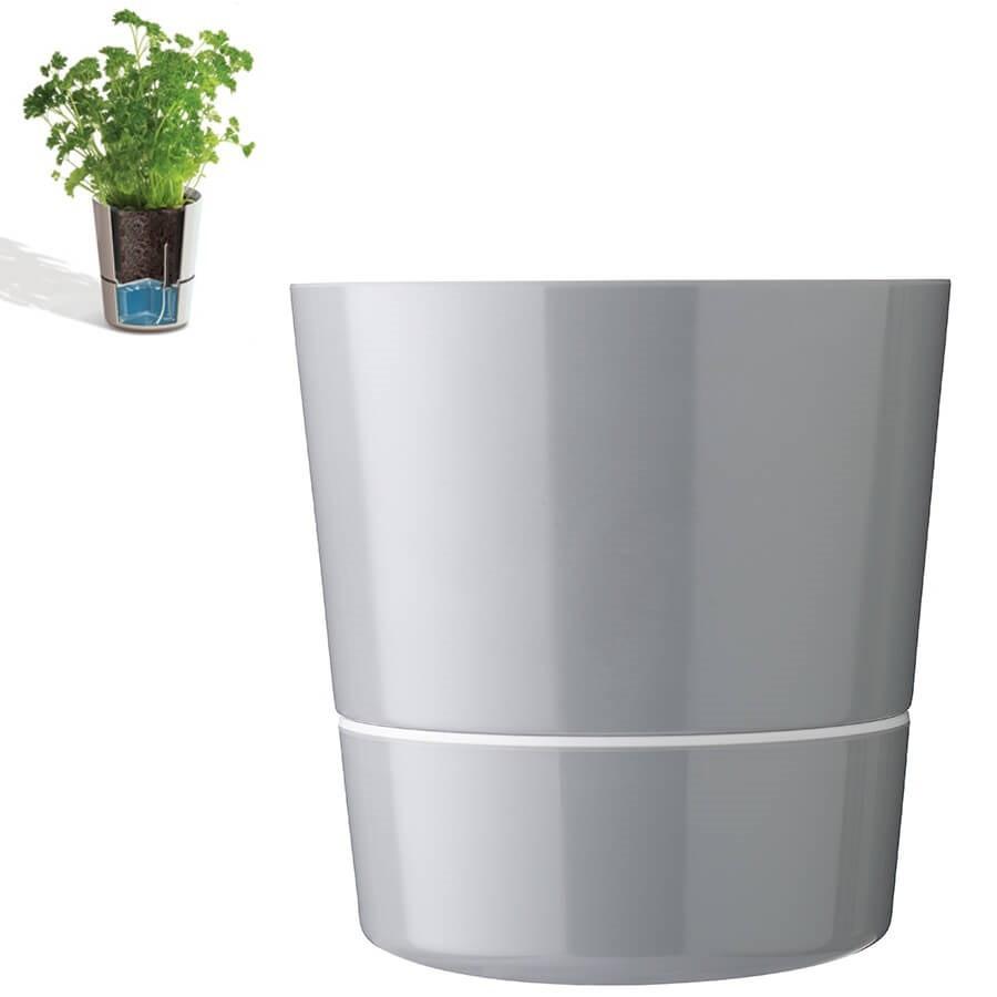 pot hydro r serve d 39 eau gris grand mod le rosti mepal. Black Bedroom Furniture Sets. Home Design Ideas