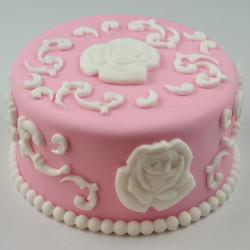 Moule Pour Decors Pate A Sucre Et Cake Design Roses