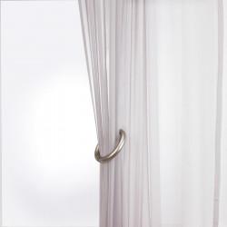 embrasse rideau aimant e gris x 2. Black Bedroom Furniture Sets. Home Design Ideas