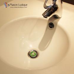 bouchons clapets de bonde de lavabo originaux. Black Bedroom Furniture Sets. Home Design Ideas