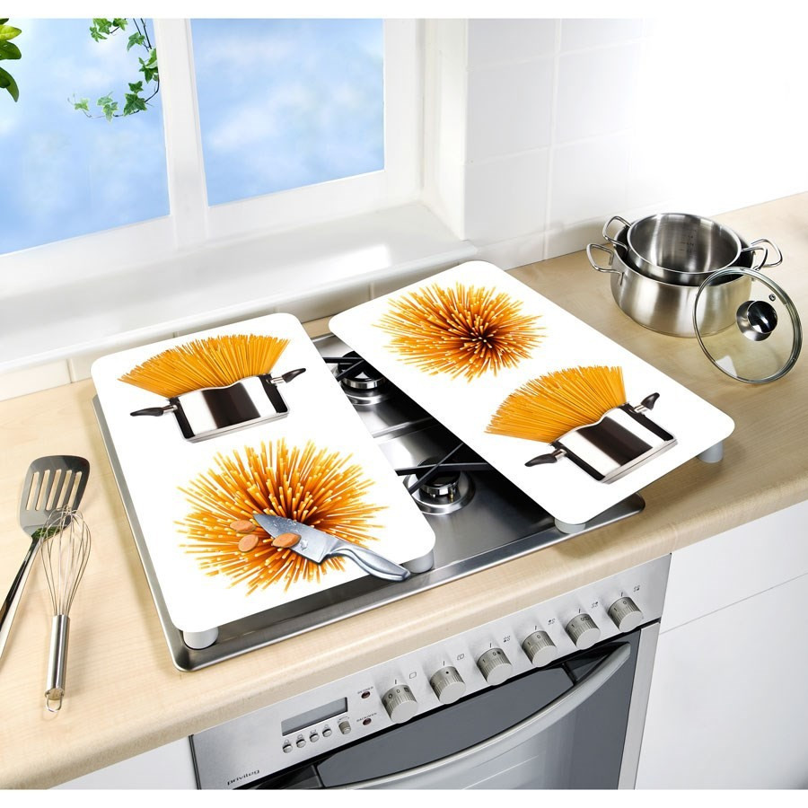 2 couvre plaques de cuisson universels spaghettis wenko. Black Bedroom Furniture Sets. Home Design Ideas
