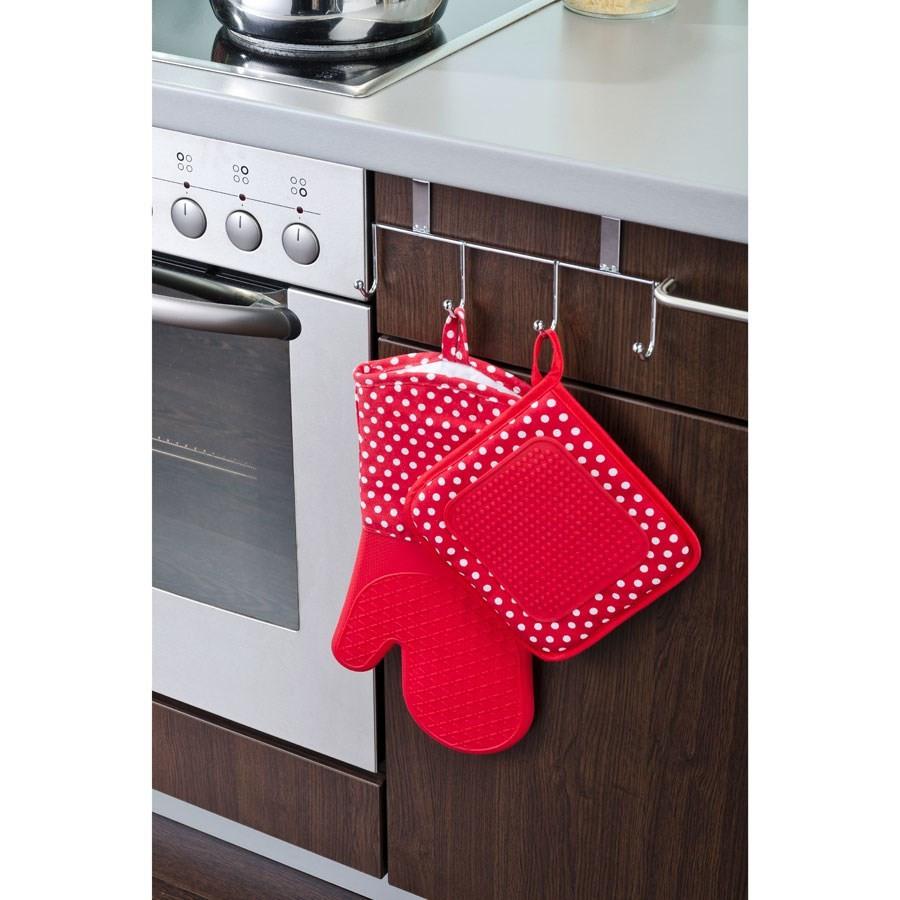 R glette 4 crochets pour porte de placard for Deco pour porte de placard
