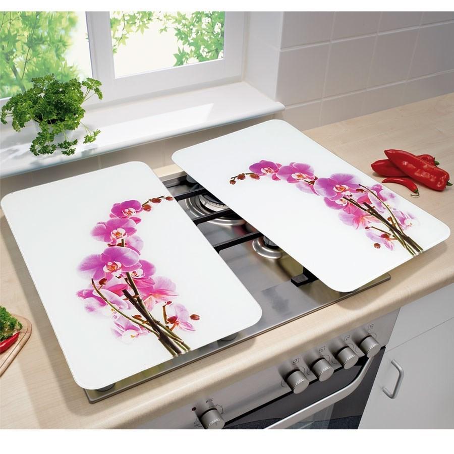 2 couvre plaques de cuisson universels orchid es wenko. Black Bedroom Furniture Sets. Home Design Ideas