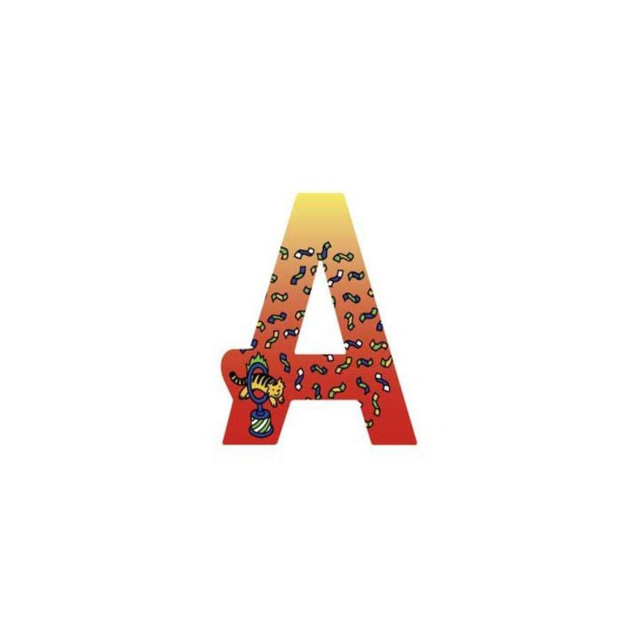 Lettre d corative en bois a d grad heimess - Lettre decorative en bois ...