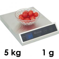 Balance de cuisine professionnelle Inox Hendi 5 kg 1g on