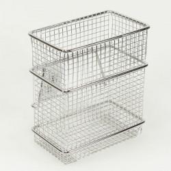 panier couverts inox vertical pour gouttoir vaisselle. Black Bedroom Furniture Sets. Home Design Ideas